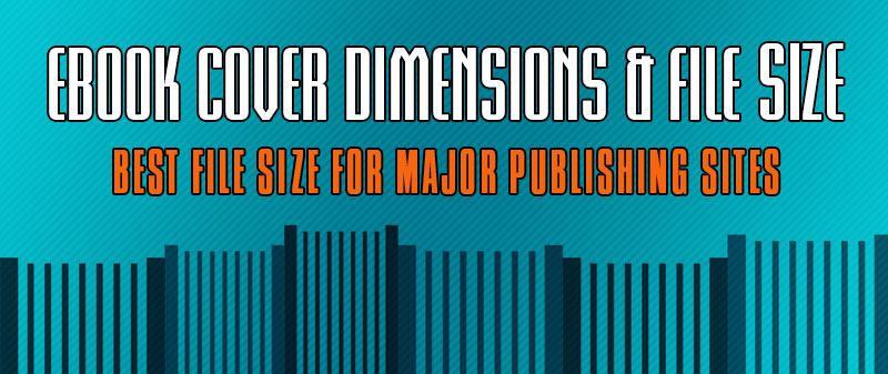 Ebook cover dimensions and file size